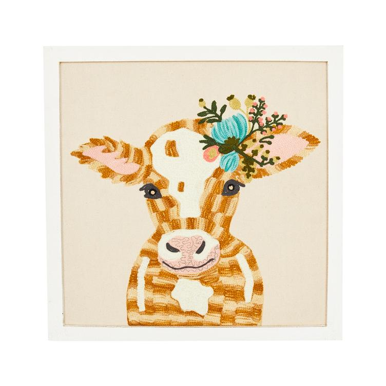 Wandbild Lady Cow