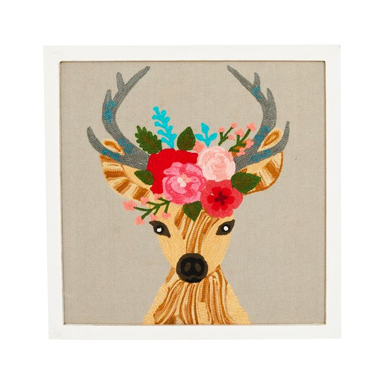 Wandbild Lady Deer