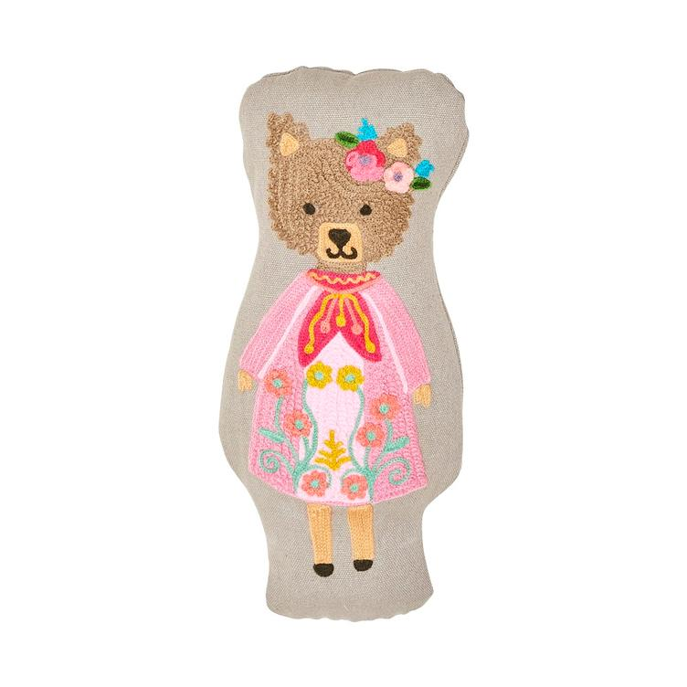 Tierkissen Lady Brown Bear