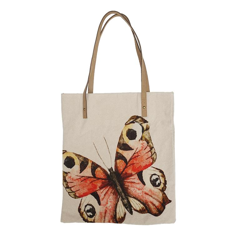 Shoppertasche Peacock Butterfly