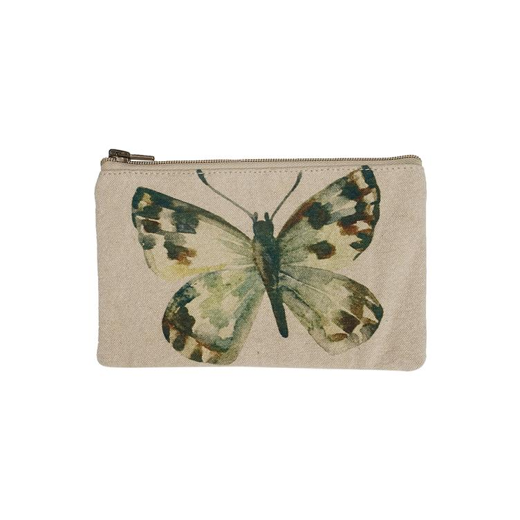 Beutel klein Brown Spotted Butterfly